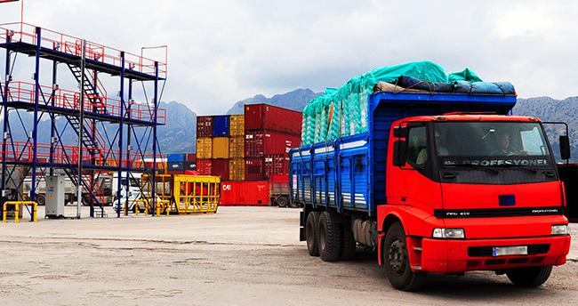 Konya'nın ihracat ve ithalatı azaldı