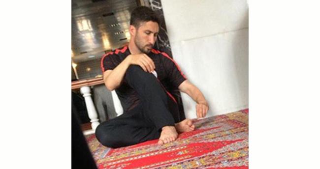 Sabri Sarıoğlu Ulu Cami'de Cuma namazında