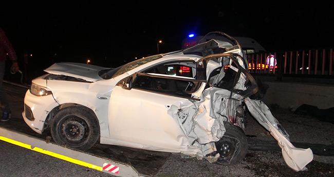 Afyon – Konya yolunda feci kaza: 4 ölü, 1 yaralı