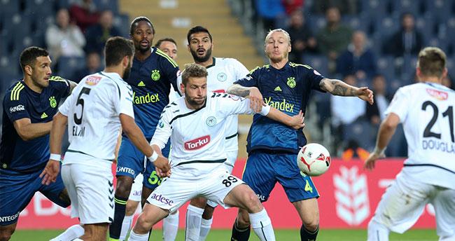 Fenerbahçe – Torku Konyaspor : 2-0