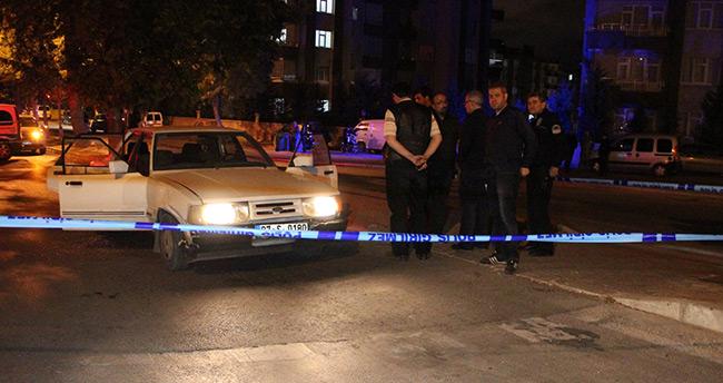 Konya'da otomobile silahlı saldırı! – Kırmızı ışıkta infaz