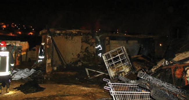 Gaziantep'te feci yangın: 7 ölü