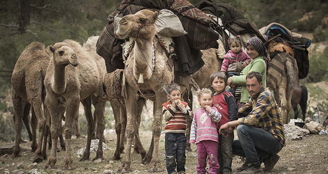 """Sarıkeçili yörüklerinin son """"develi"""" konargöçerleri"""
