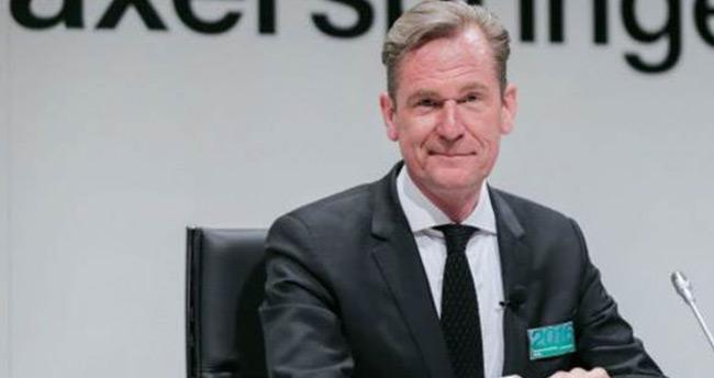 Erdoğan, Alman medya grubu yöneticisi Döpfner'e de dava açtı