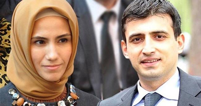 Sümeyye Erdoğan ve Selçuk Bayraktar çiftinin düğün davetiyesi