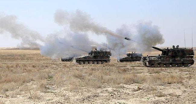 Suriye'deki DAEŞ hedefleri vuruldu