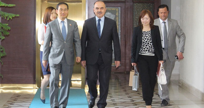 Kore'nin Ankara Büyükelçisi Cho Konya'da