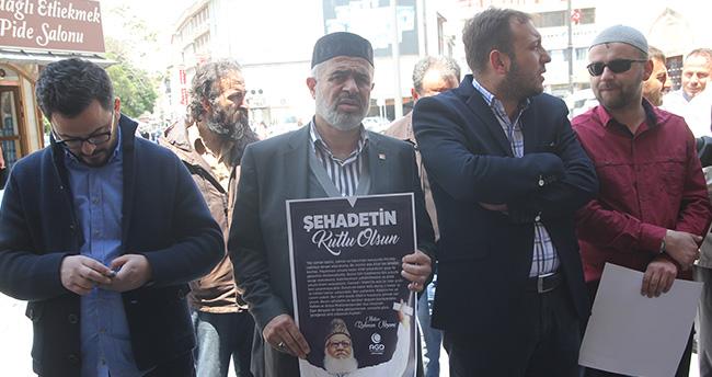Nizami'nin idam edilmesine Konya'dan tepki