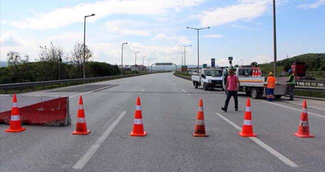 TEM'in Bolu Dağı Tüneli çıkışı ulaşıma kapatıldı