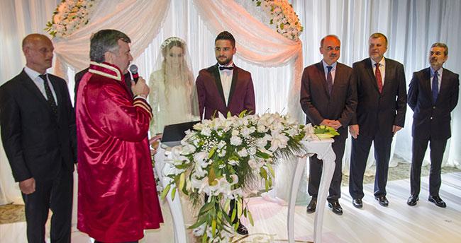 Torku Konyasporlu Ömer Ali Şahiner evlendi