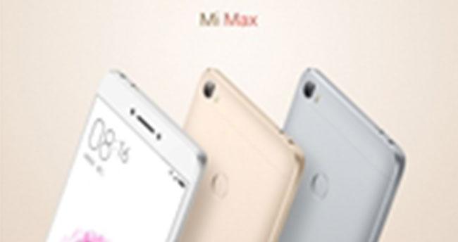 Xiaomi Mi Max Tanıtıldı!
