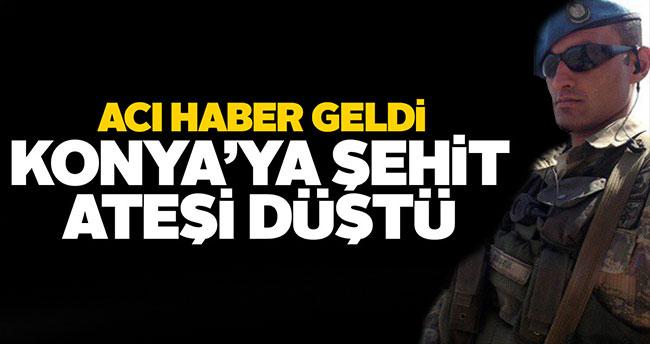 Nusaybin'de yaralanan Konyalı asker şehit oldu
