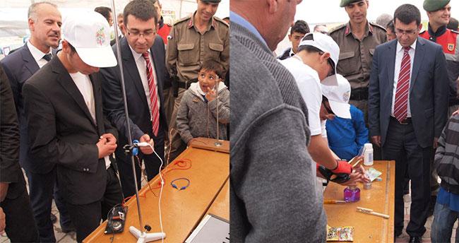 Cihanbeyli'de TÜBİTAK Bilim Fuarı açıldı