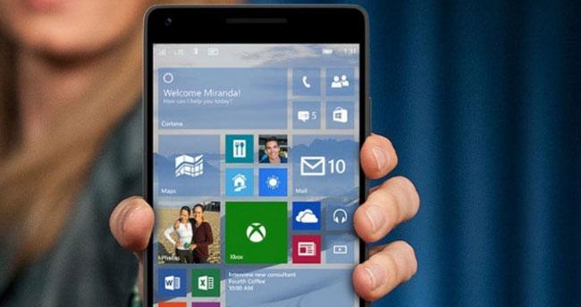 Windows 10 Mobile'a parmak izi desteği!