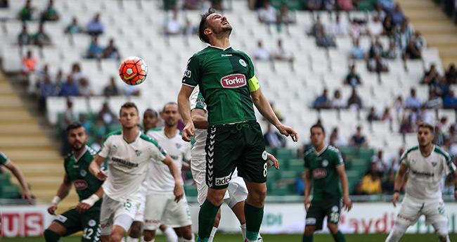 Bursaspor 1 – 1 Konyaspor