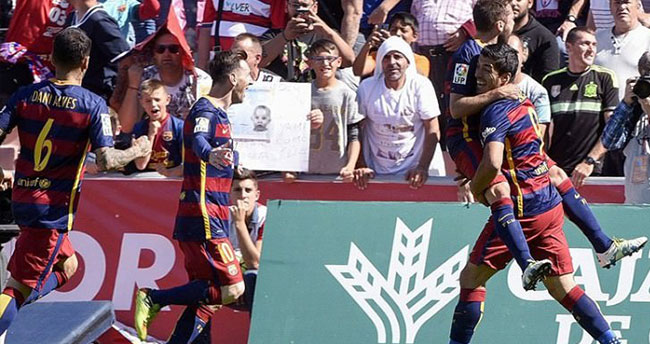 İspanya La Liga'da şampiyon Barcelona!