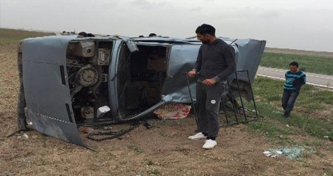 Konya'da Otomobil Takla Attı: İki Yaralı