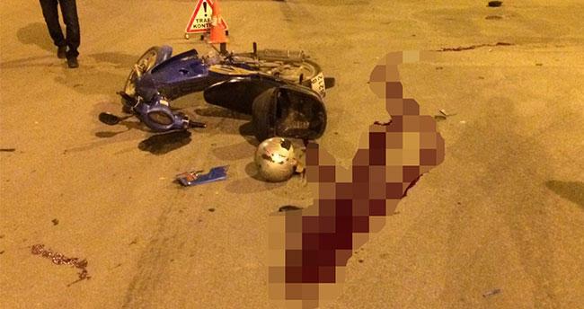 Konya'da otomobille motosiklet çarpıştı: 1 ölü