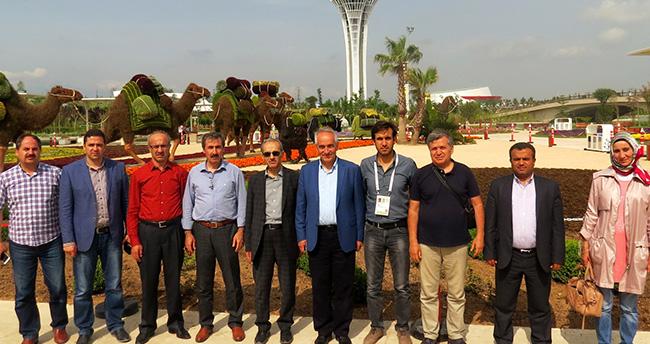 Konya Büyükşehir Expo 2016 fuarında