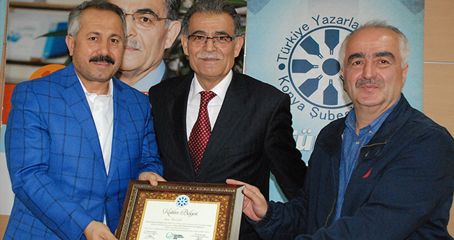 Sami Güçlü TYB Konya'da konuştu