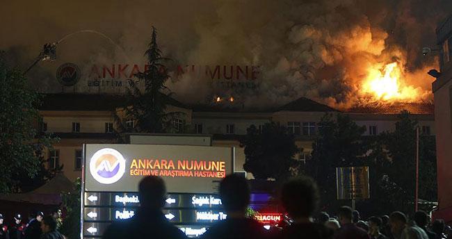 Ankara Numune Hastanesi'nde yangın! 100'e yakın hasta…
