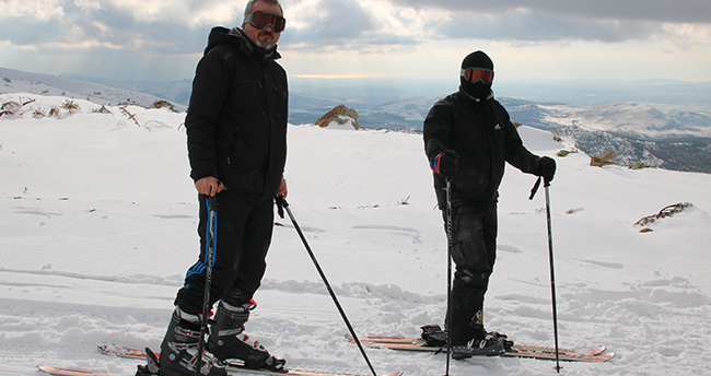 Konya'da bu yıl kayak keyfi yaşanacak