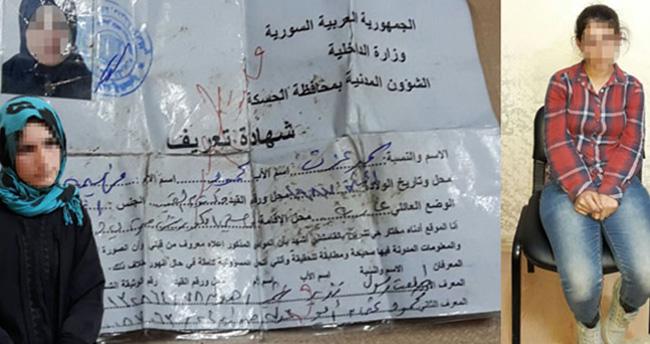 PYD'nin gönderdiği keskin nişancı kadın terörist yakalandı