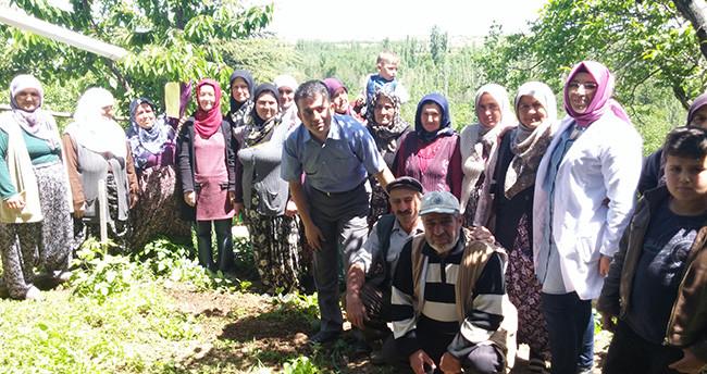 Akşehir'de organik tarım kursu açıldı