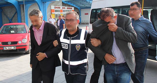 Konya'daki rapor vurgununda zanlılar adliyeye sevk edildi