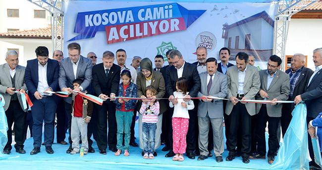 Kosova Camii açıldı