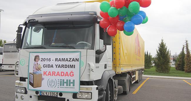 Konya'dan Karadağ'a yardım eli