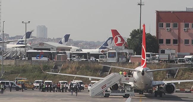 Konya-İstanbul uçağında bomba paniği