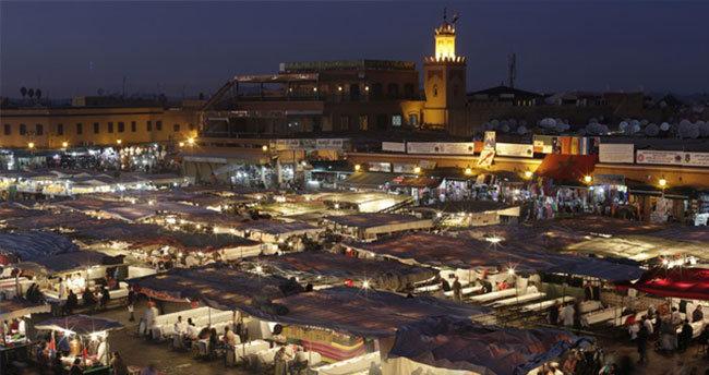Fas'ta 24 saatlik genel grev