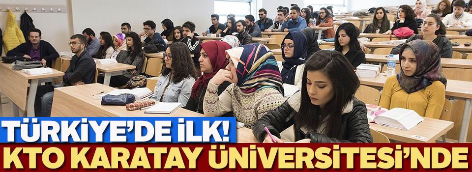 KTO Karatay Üniversitesi'nde İslam Ekonomisi ve Finans bölümü açıldı