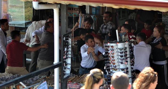 Konya'da sopalı kavgaya Jandarma müdahale etti