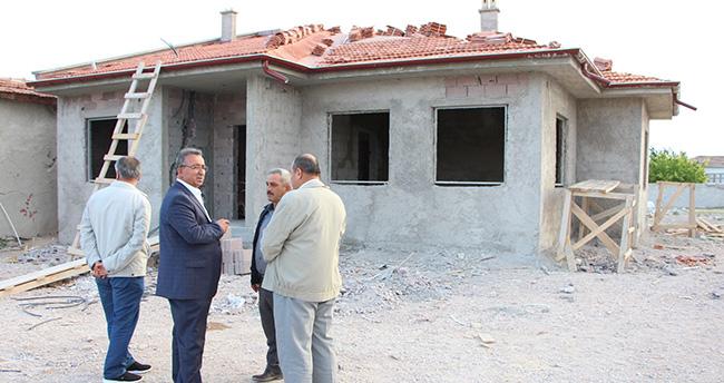 Karatay Belediyesi'nden şehit ailesine ev