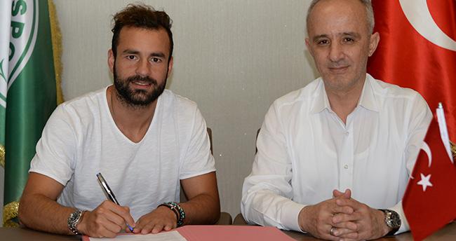 Atiker Konyaspor Mehmet Uslu ile 1 yıllık sözleşme imzaladı