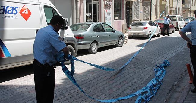 Konya'da şüpheli canta apartman boşalttırdı
