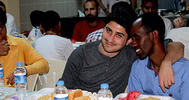 Konya'da yabancı öğrencilere iftar