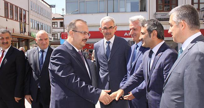 Konya Valisi Yakup Canbolat göreve başladı