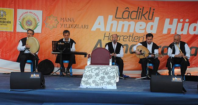 """Konya'da """"Ladikli Ahmet Hüdai"""" anıldı"""