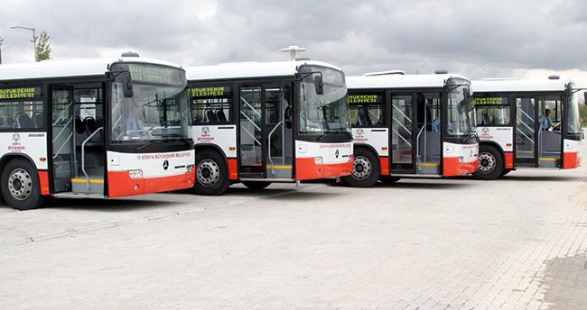 Konya'da otobüs sefer saatleri değişti