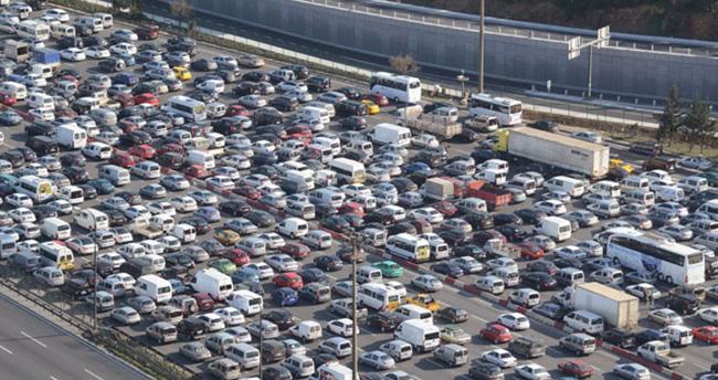 Trafiğe kayıtlı araç sayısı 20 milyon 350 bin oldu