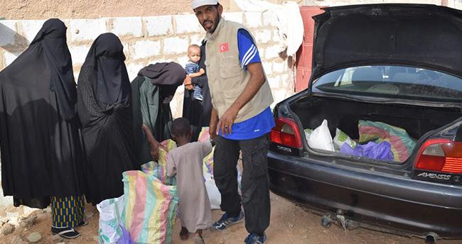 Konya'dan, Moritanya ve Çad'daki yoksullara yardım eli