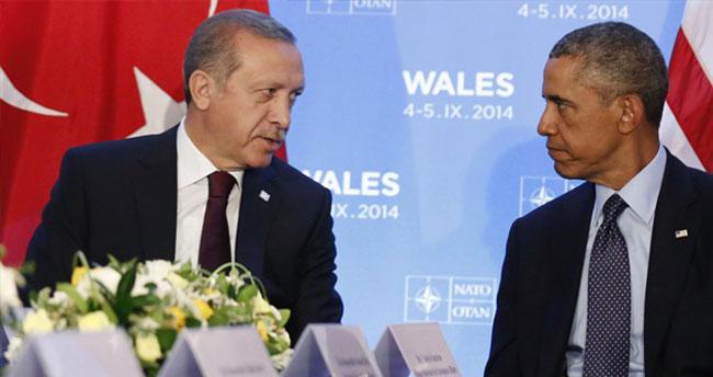 Cumhurbaşkanı Erdoğan'dan Obama'ya telefon