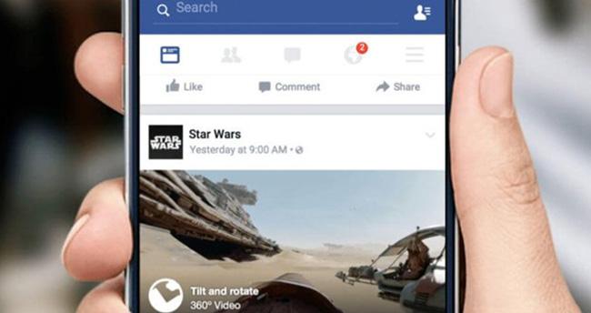 Facebook'a 360 derece fotoğraf yeniliği geldi