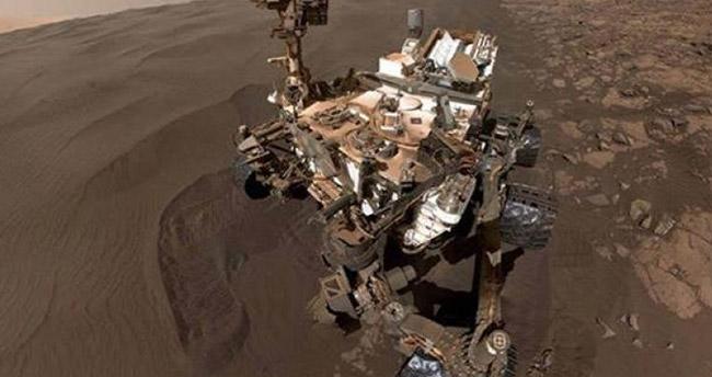 NASA'nın robotundan Mars'ta şaşırtan keşif