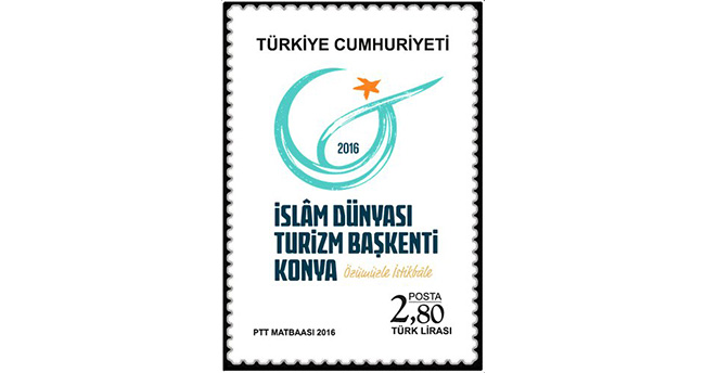 PTT'den Konya'ya Özel 'Başkent' Pulu
