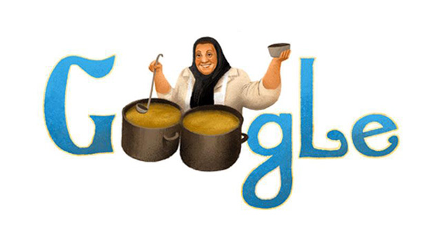 Google Adile Naşit'in doğum gününü unutmadı