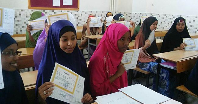 Konya'daki Somalili öğrencilerin mezuniyet sevinci